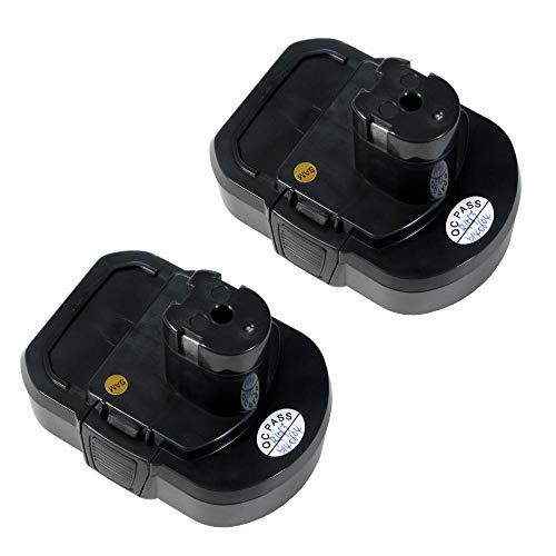 Preisvergleich Produktbild 2x Hochleistungs Li-Ion Akku 14, 4V / 2000mAh ersetzt Ryobi BPL1414 BPL 1414 für Ryobi LLCD14022 LLCD 14022