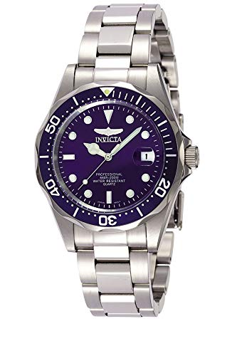 Invicta Men's Pro Diver 37.5mm Stainless Steel Quartz Watch,...