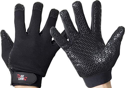 Disc Living | Ultimate Frisbee Handschuhe | Disc Golf Handschuh Grip, Men's Medium