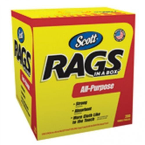 All States Ag Parts Parts A.S.A.P. Scott White Shop Rags in A Box - 200 Sheets