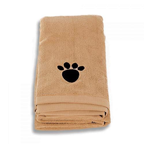 QHS Superabsorbentes, 140x70cm Mascota Profesional/Perro Toalla de Microfibra