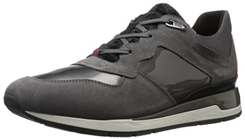 Geox D Shahira A, Zapatillas para Mujer, Grau (DK GREYC9002), 36 EU