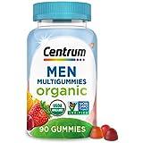 Centrum Men's Organic Multivitamin Gummies with