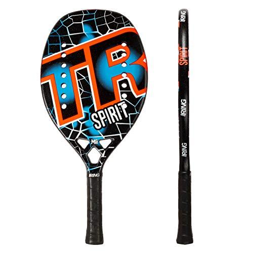 Top Ring Rachetta Beach Tennis Spirit 2020-100% Carbon 3K - Spessore 22 mm