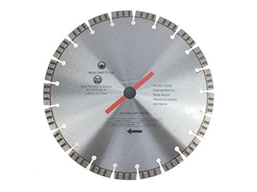 Diamanttrennscheibe 350 x 25,4 mm TURBO für Beton, Stahlbeton, Stein, Klinker, etc.