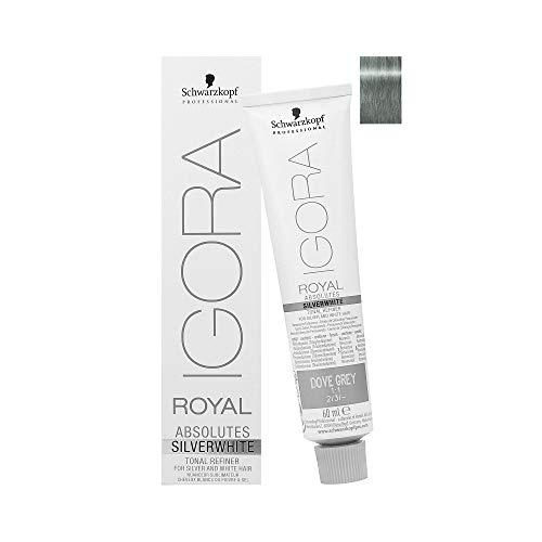 Schwarzkopf Igora Royal Absolutes SILVERWHITE Tonal Refiner (Slate Grey) by Schwarzkopf