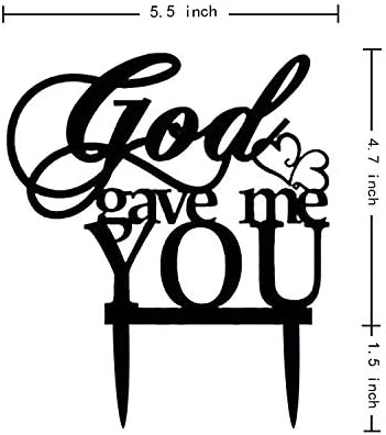 Christian wedding cake toppers _image1