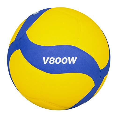 MIKASA Volleyball V800W, blau, 5