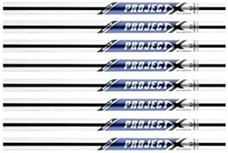 Rifle Project X 5.5 Flighted 3-PW Steel Iron Shafts .355 Taper Tip -- Set of 8 shafts