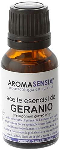 Aromasensia Geranio aceite esencial 15ml. 1 Unidad 400 g