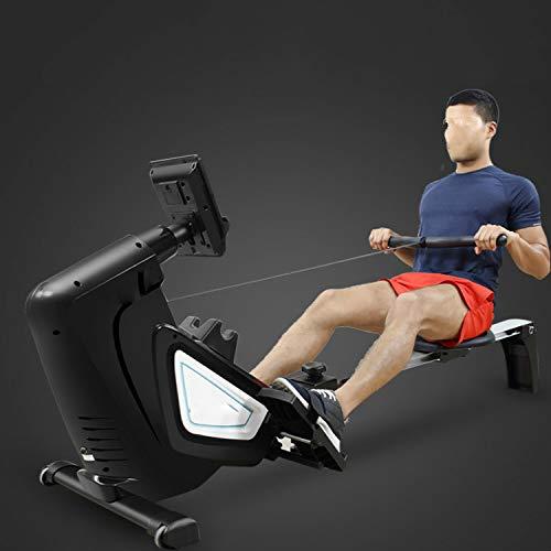 Roeimachine huis paddling weerstand roeiboot paddle vouwkaart huis magnetische controle smart roeimachine fitnessapparatuur