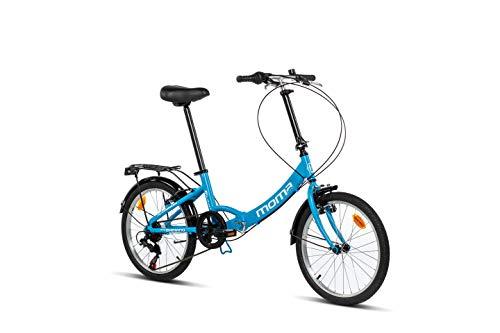 Moma Bikes First Class Ii Blue, Bicicletta di...