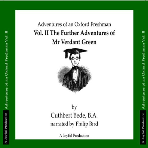 The Adventures of Mr Verdant Green, Volume II audiobook cover art