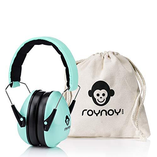 roynoy | Gehörschutz Kinder und Baby | ab 2 Jahre | Ohrenschutz Kinder | Ohrenschützer | Lärmschutz Baby | Lärmschutzkopfhörer Kinder (Mint)