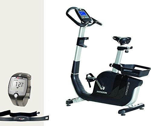 Horizon Comfort 8i Ergometer Fitness und FT1 Polar Pulsuhr