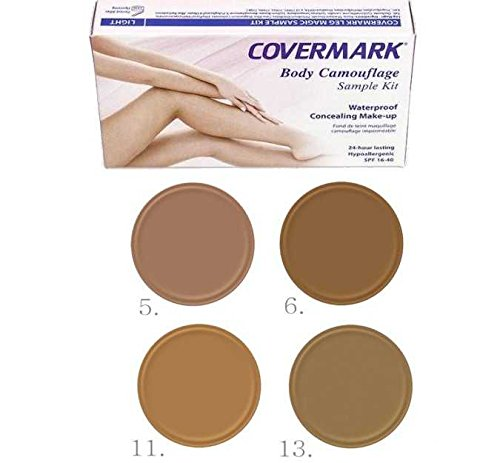 Covermark Leg Magic trial kit–Dark D01