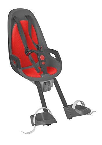 HAMAX Kindersitz Caress Observer Befestigung vorne Farbe grau-rot