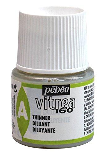 Pebeo Vitrea 160, Glass Paint Thinner, 45 ml Bottle