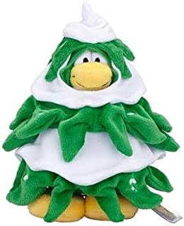 Club Penguin Official Christmas Tree Penguin - VALUE DEAL = Just the Tree without Coin or Code - YOU SAVE $$$