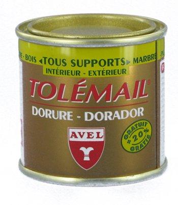 puissant Avel530220 Dorure Tolémail 50ml Or Riche