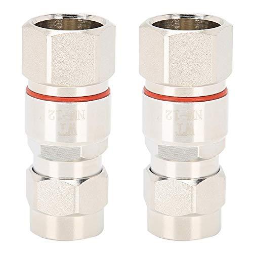 Cuifati Antena coaxial, Cable Conector Tipo N, Fabricado en latón Aplicaciones Que involucran interfaces Hembra