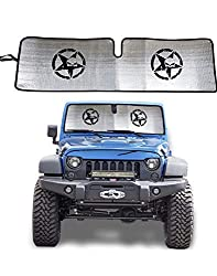 which is the best jeep sunshade windshield in the world