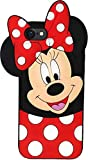 Avianna i-Phone 8 Plus Mickey Mouse, Cartoon Series Girlish Cute Silicone Mickey Case