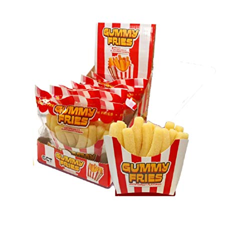 Novelty Gummy Fries - Gummi French Fry Candy, 7.05 Oz