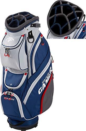 Top-Flite 2019 Gamer Golf Cart Bag-Gray/Navy