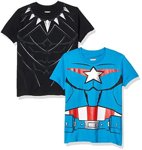 Marvel Avengers Boys 4 Pack T-Shirt…