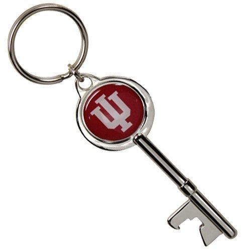 NCAA Indiana Hoosiers Skeleton Key Bottle Opener Key Ring
