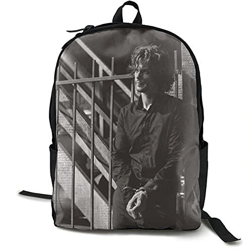 Criminal Minds Matthew Grey Gubler artículos de la película regalo de los fans del Reino Unido Julius Margaret Bookbag mochila moda hombres, mujeres, unisex, adultos escuela, viajes, negocios