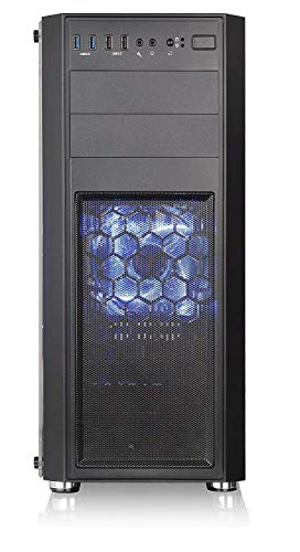 PC-TECHゲーミングパソコン最新9世代i79700F搭載/GTX16504GB搭載/メモリー16GB/SSD240GB/1TB/DVDドライブ/500W80Plus/windows10pro(GTX1650(4GB),VersaH24(ブラック))