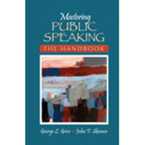 VangoNotes for Mastering Public Speaking  By  cover art