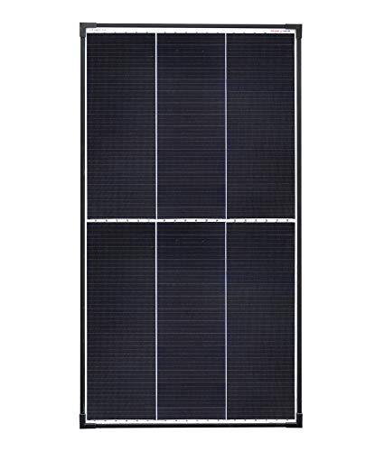enjoysolar® Panneau solaire monocristallin 100 W 12 V avec technologie de bardeaux