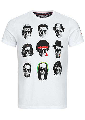 Brave Soul Herren Shirt MTS-149FAMOUS weiß S