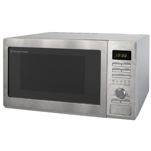 41yJgF69N2L. SS500  - Russell Hobbs RHM3002 30L Digital Combination Microwave with Grill & Convection, 900W - Stainless Steel