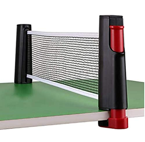 Best Bargain Ping Pong Net Set Retractable Table Tennis Net Replacement Portable Table Tennis Nets P...