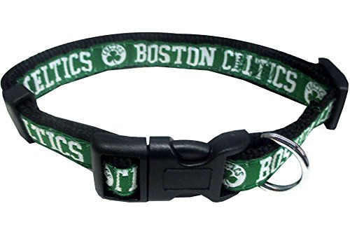 NBA BOSTON CELTICS Dog Collar, Size Small. Best Pet Collar for all Sports Fans
