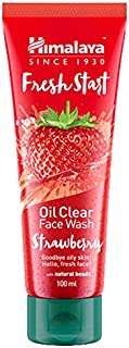 Himalaya Fresh Start Oil Clear Face Wash Strawberry -100ml
