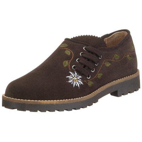 Diavolezza HEMMA, Zapatos de Cordones Derby Mujer, Marrón-marrón, 43 EU
