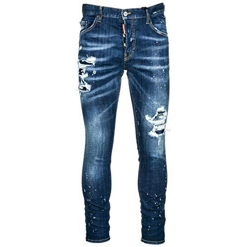 Dsquared2 Jeans Jean Homme Skater blu EU 48 (UK 32) S74LB0422S30342470