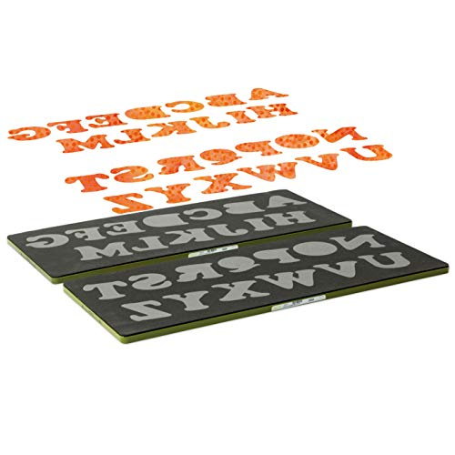 Accuquilt GO! Carefree Alphabet Uppercase Set (2-Die Set)