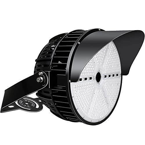 500W LED Stadium Light, 70000 Lumen(1500-2000W Metal Halide Eq.), 5000K High Mast Light, IP66 Waterproof, LED Arena Lights for Outdoor Indoor Flood Lighting, Parking Lot, Sport Court (UL-Listed)