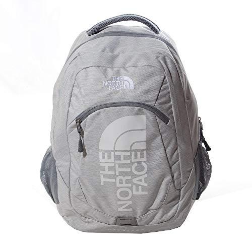 The North Face Haystack Sports Outdoor School Backpack Rucksack Bag Grey