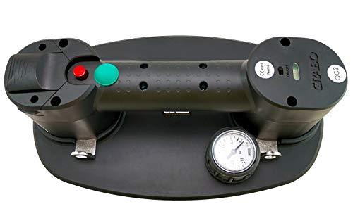 Akku-Vakuum-Saugheber - Nemo Grabo Plus | Neue Version | Bis 170Kg Tragkraft | Für alle Oberflächen