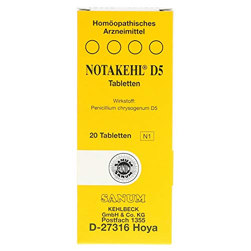 NOTAKEHL D5 Tabletten, 20 St. Tabletten