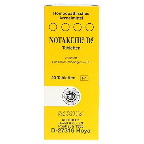 NOTAKEHL D 5 Tabletten 20 St