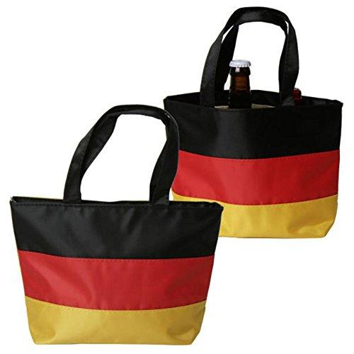 Fantasche - Deutschland - Flagge als Tasche für alle Fans of Germany - praktisch zur EM/WM/Olympia und anderen Sportereignissen