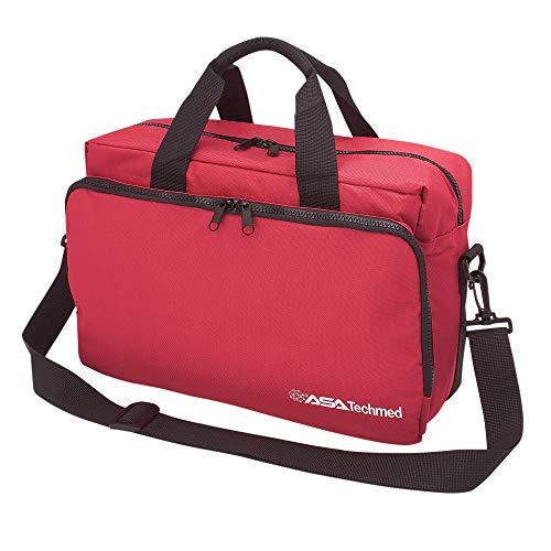 Nurse/Physician Nylon Medical Equipment Instrument Bag (Red)